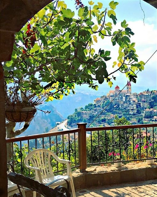 Wish you a great week start Good morning igers 💒🌳 bcharre ... (Bcharreh, Liban-Nord, Lebanon)