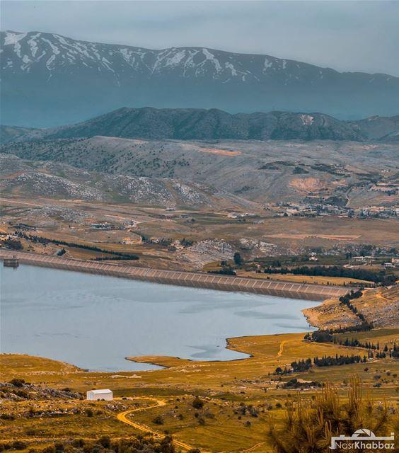 naturephotography nature naturelovers lake landscapephotography ... (El Qaraoun, Béqaa, Lebanon)