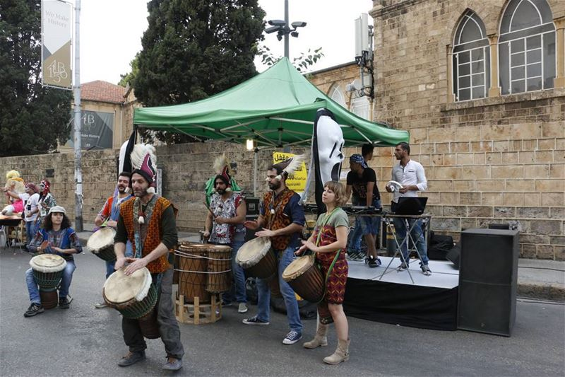 lebanese authentic drummers in beirut lebanon lebanonspotlights ... (Bliss St. AUB, Hamra)