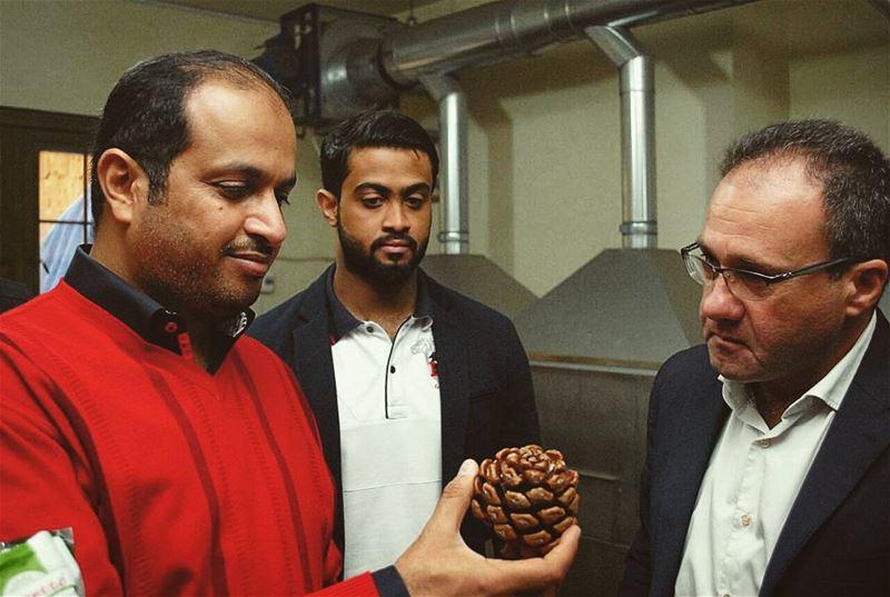 It was a huge pleasure welcoming UAE Ambassador Hamad Saeed Al Shamsi at... (Bkâssîne, Al Janub, Lebanon)