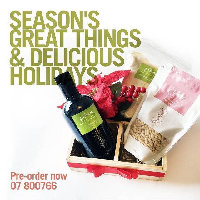 The season's about to get deliciously festive. Choose from a selection of...