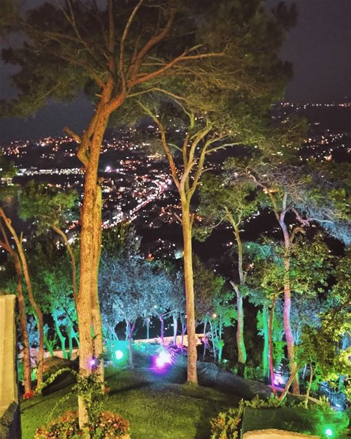 I often think that the night is more alive and more richly colored than... (Harîssa, Mont-Liban, Lebanon)