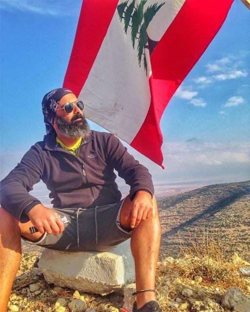 Lebanese/Syrian borders. Keep only our Lebanese Flag HIGH! lebanon me ... (Fîssâne, Béqaa, Lebanon)