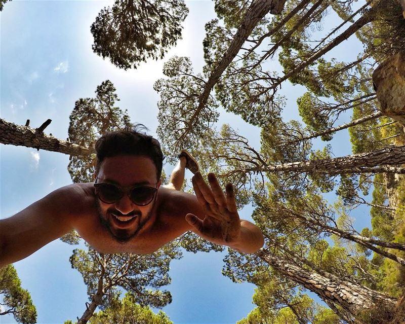 Hello 🙃 ExploreWithChris BSHIL Yoga Lebanese lebanon Instagram ... (Blue Jay Valley)