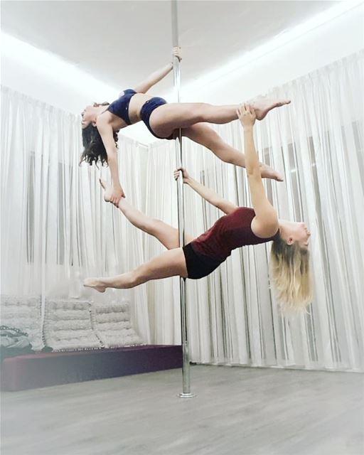 •Pole Challenge - day 2•Double trouble 🤘 lolypolechallenge pdsit ...