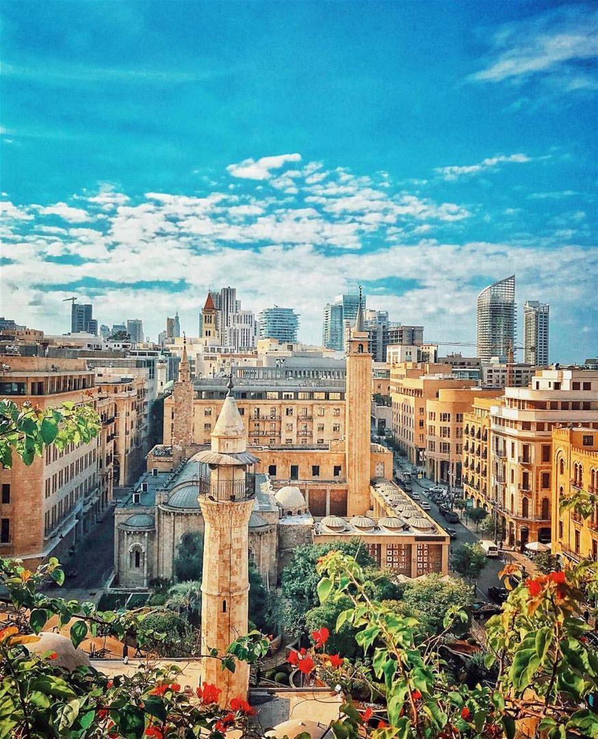 من قلبي سلام لبيروت ❤️ Thank you @rawadthenomad for sharing 🙌🇱🇧🙌... (Beirut, Lebanon)
