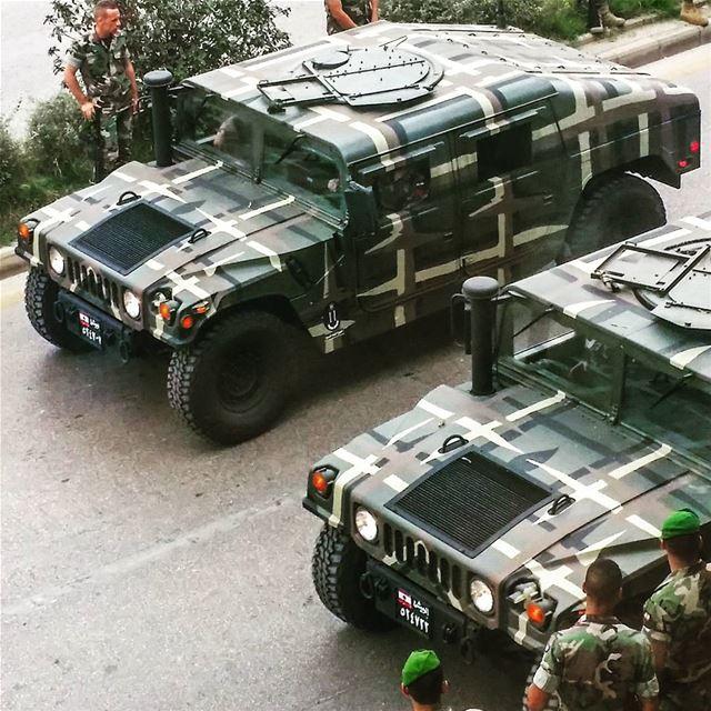 الجيش_اللبناني فوق كل اعتبار lebanese army parade rehearsal humvee...