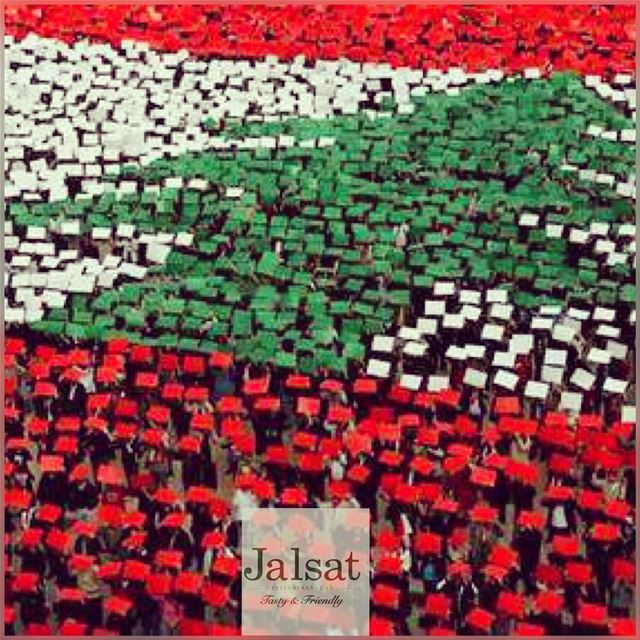 Happy independenceday 🇱🇧 jalsat restaurant mayrouba faraya ... (Jalsat)