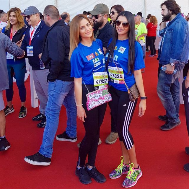 The real purpose of running isn't to win a race, it's to test the limits... (Beirut Marathon)
