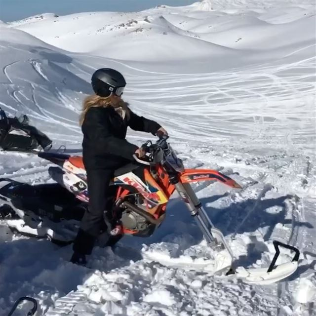 Winter is coming ⛄️🏔🌨 can't wait to get back on the best ride ktm ... (Faraya, Mont-Liban, Lebanon)