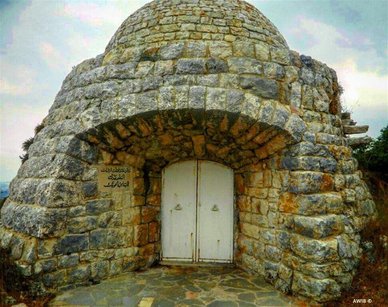Patriarch Elias Howayek tomb.Died on 24 December 1931, he is hailed as... (Batroûn)