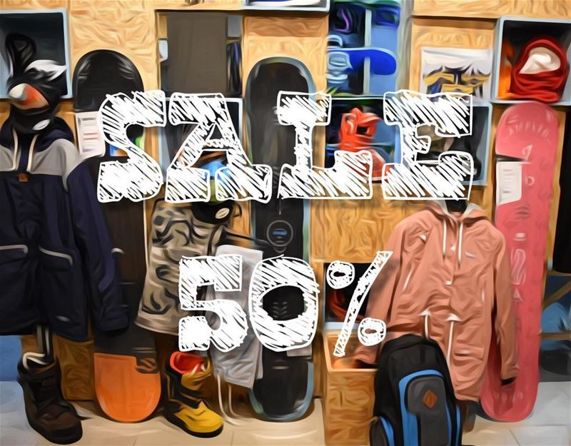🏂 and ⛷Pass by this Weekend and get a 50% on (Snowboards, skis, bindings,... (Republic of Sports - The House)