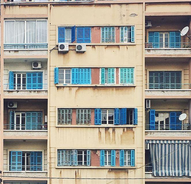 winter blues 🌧 (Beirut, Lebanon)