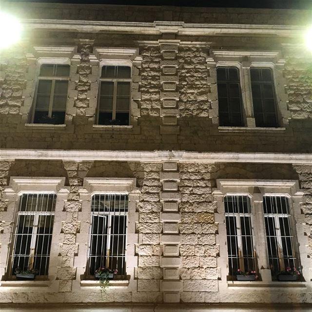 jounieh ghadir municipality building bynight nofilter architectural...