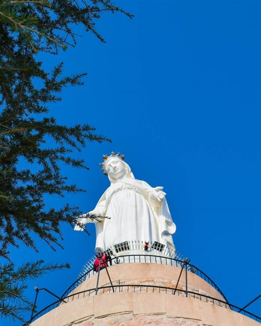 """The man who asks a question is a fool for a minute, the man who does not... (Our Lady of Lebanon)"