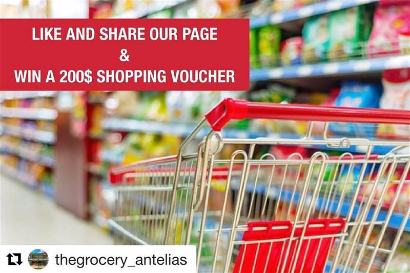 Repost @thegrocery_antelias (@get_repost)・・・Like and share our page ...
