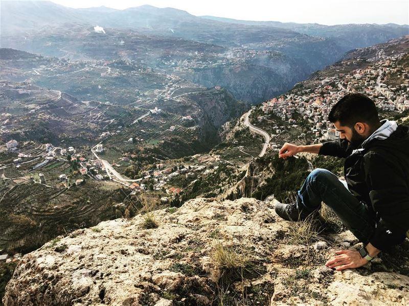 about today hiking hikingadventures hikers hike climbing climb... (Cedars of God)