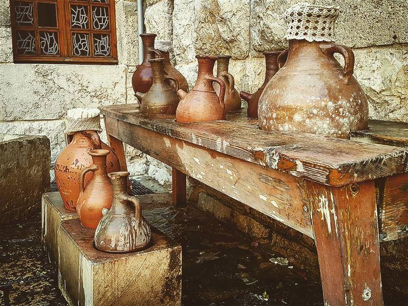 🏺 OldLebanon Lebanon Annaya Jar WaterJar Traditions ... (Mazar Saint Charbel-Annaya)