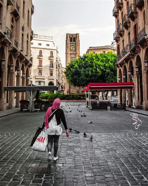 لـ بيروت ..من قلبي سلاماً لـ بيروتمن ارشيف بيروت beirut lebanon ... (Downtown Beirut)