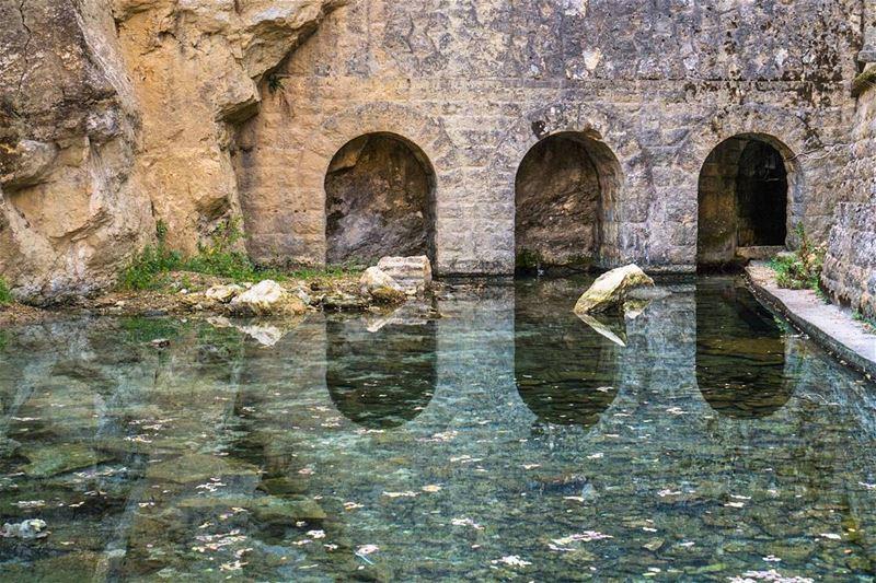 Jezzine's historical water source lebanon ... (Jezzîne, Al Janub, Lebanon)