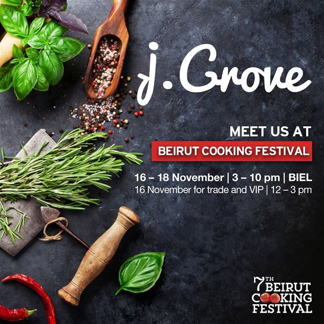 Head over to the @beirutcookingfestival at BIEL to get the true wonderful...