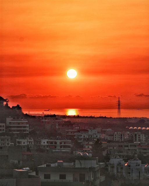 Summer sunsets...🌅🙏 (Heker-Cheikh-taba /Akkar)