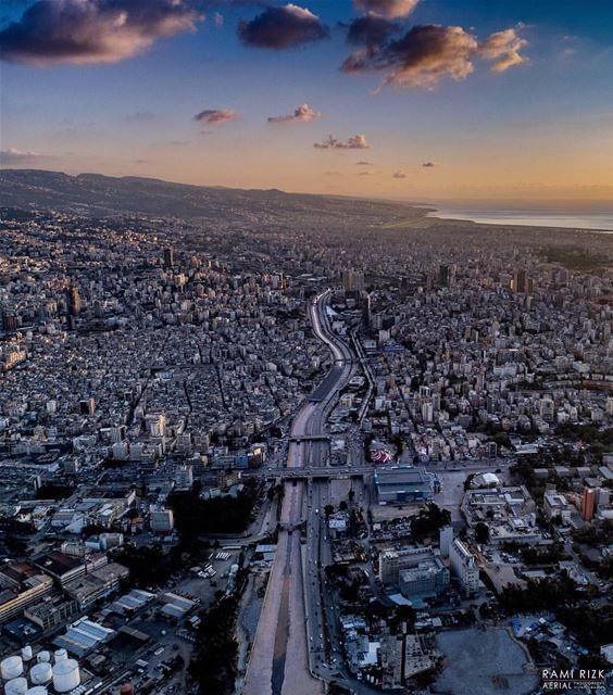 City Of Life ❤️By @rami_rizk89 AboveBeirut Beirut Liban Libano ... (Beirut, Lebanon)