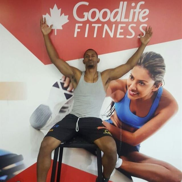 Back at it. Living the @goodlifefitnesslebanon .  one day at a time. ... (Goodlife Fitness - Jal El Dib)