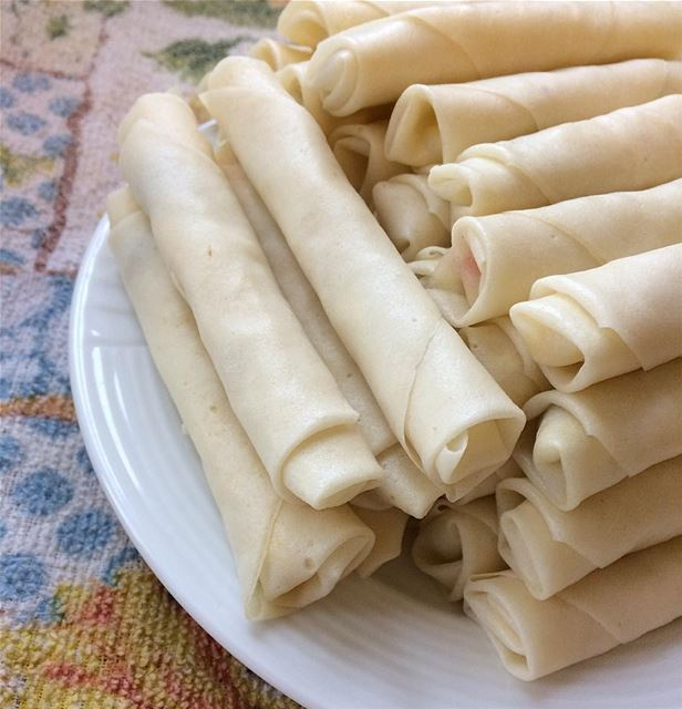 Cheese rolls. I usually prepare them in advance and keep them in the...