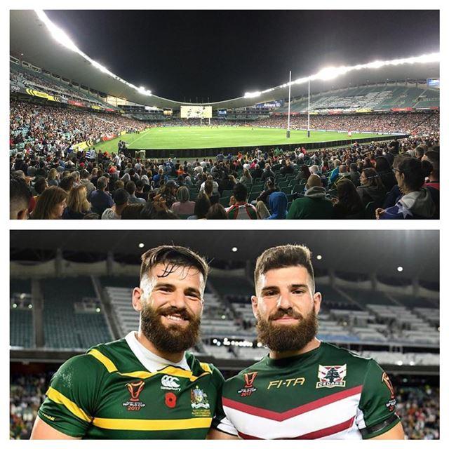 🇱🇧Lebanon vs Australia🇦🇺 Rugby League World Cup 2017 in Sydney,... (Allianz Stadium)