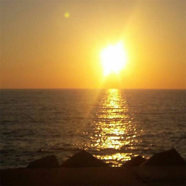 Photo Taken By:@chrixtina.bh repost sunset lebanon leb lebanese ... (Dbayeh, Mont-Liban, Lebanon)