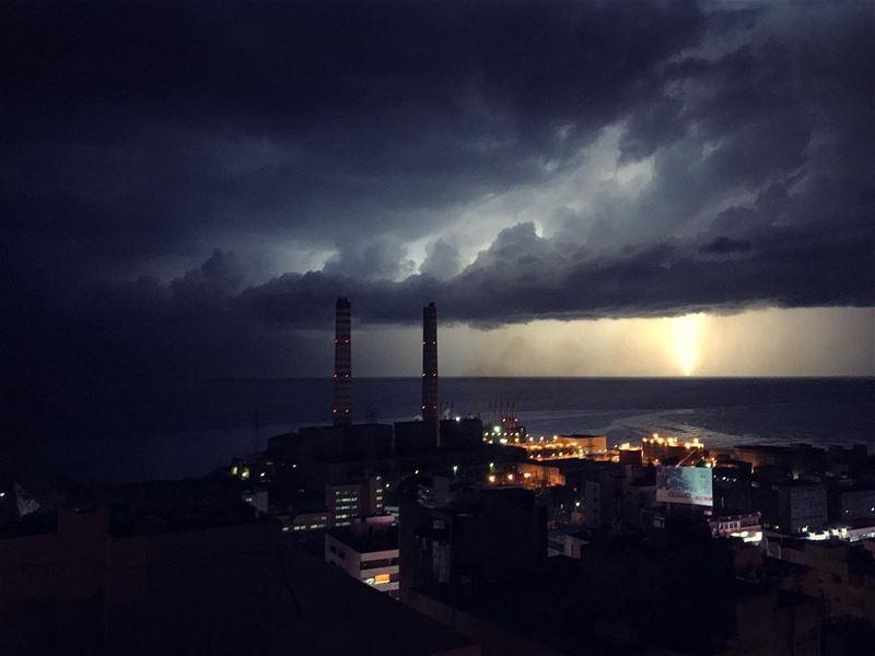 | Storm is coming | storm lightning rain stormyweather lebanon ... (Adonîs, Mont-Liban, Lebanon)