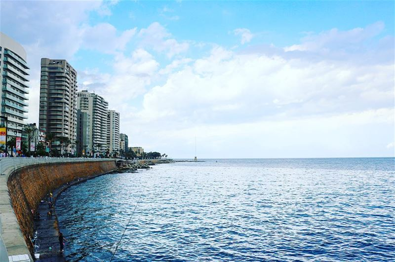 Beirut will always have a special place in the heart 💙Good morning - - -...