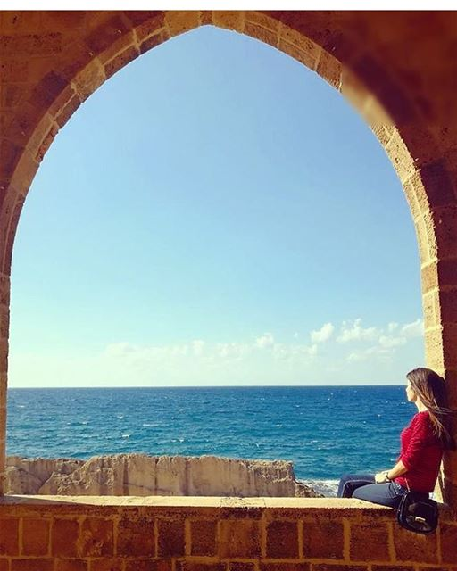 My rhythm and blues 💙💙 FirstCenturyBC 💙 phoenicianwall batroun ... (Batroûn)