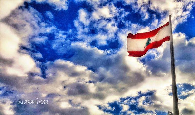 واذا نحن اتفرقنا، بيجمعنا حبك....يا وطني بحبك lebanoninapicture ... (Beirut, Lebanon)