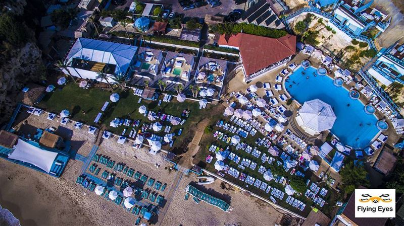 Have a great weekend igers and enjoy the last summer days 🌝🏊♂️|🔴⚪⚪🌲⚪⚪ (C FLOW Beach Resort)