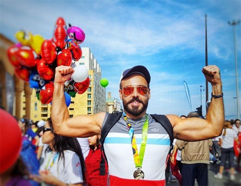 للسنة السابعة ✌💪🏅 beirutmarathon beirutmarathon2017 lebanon ...