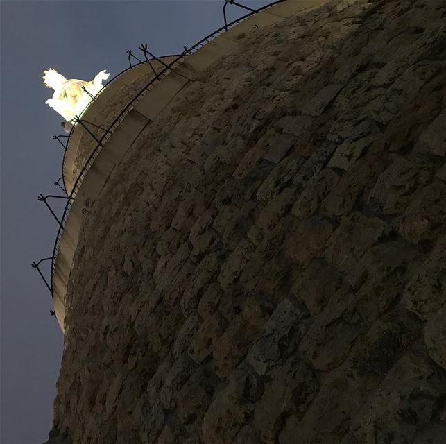 harissa jbeil_byblos_lebanon notredameduliban virginmary ilovelebanon... (Harîssa, Mont-Liban, Lebanon)