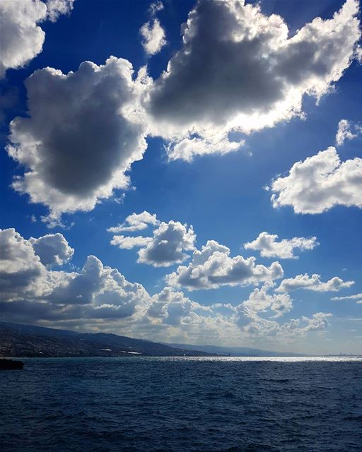 So close, you can catch them☁.. livelovebyblos livelovelebanon... (Byblos, Lebanon)