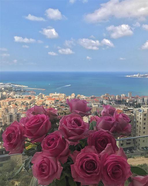 Have a wonderful Sunny Sunday 💐• ptk_lebanon super_lebanon hd_lebanon... (Joünié)