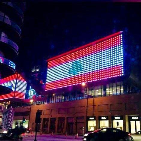 Lebanon's independence is continually challenged 🇱🇧💪 independanceday ... (Beirut, Lebanon)
