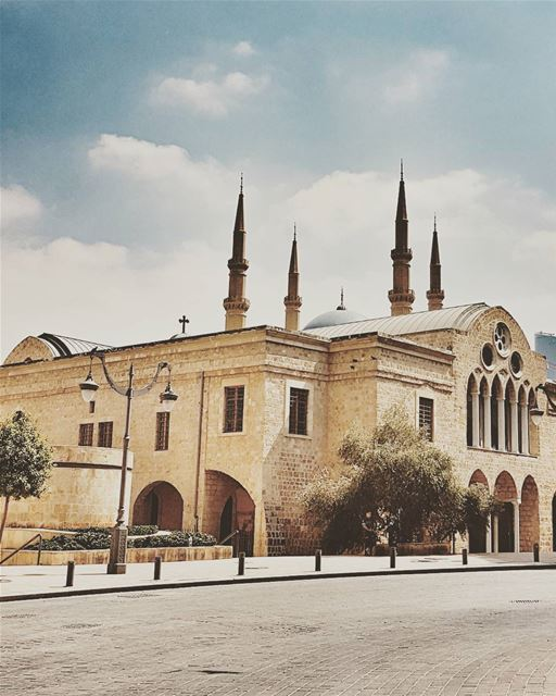 CHURCHES & MOSQUES......... beirut  livelovebeirut  church ... (Downtown Beirut)