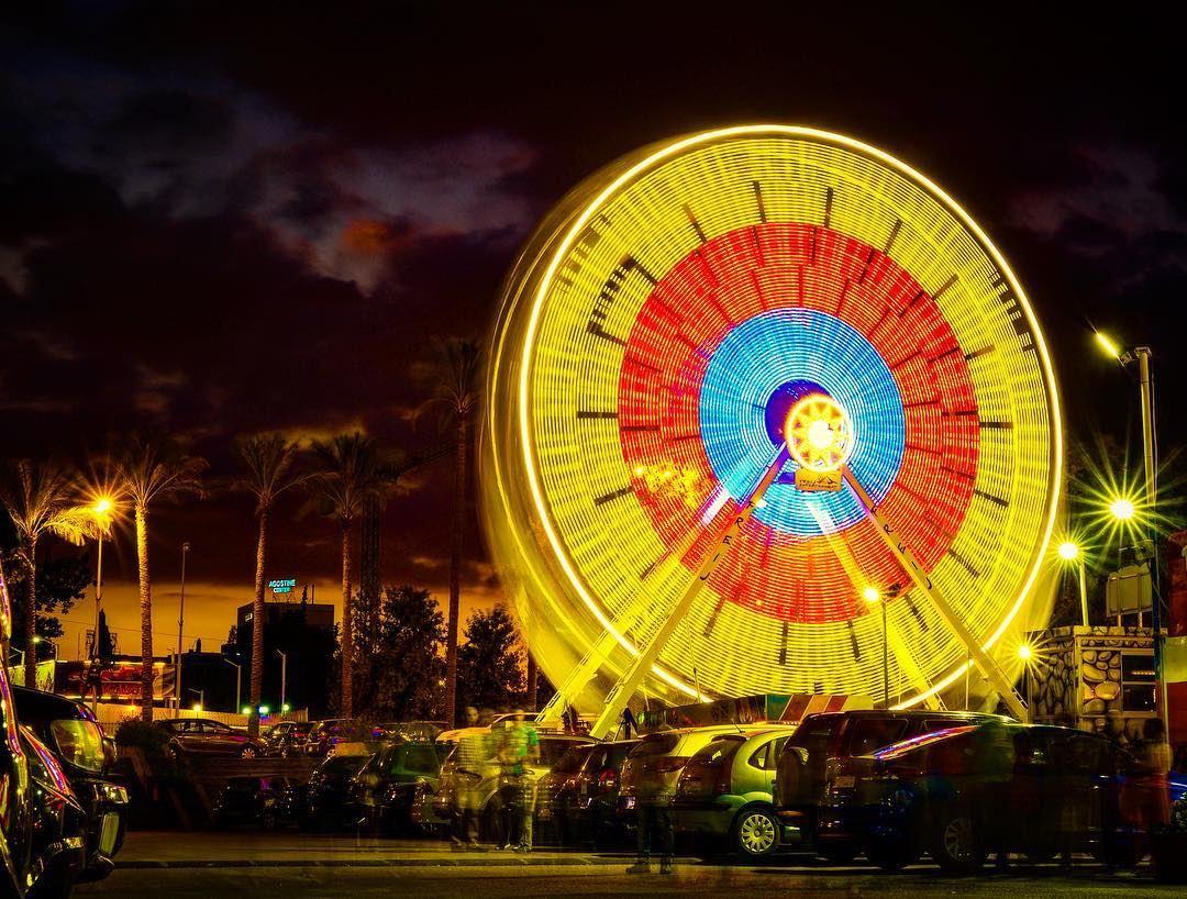 Luna park , 🎡 ferris wheel - my shot —�—�—�—�—�—�—�—�—�— shotoftheday ... (Beirut, Lebanon)