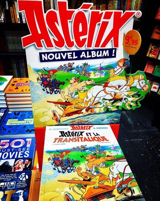 Asterix et Obelix - Transitalique BD 😊👍🏻Sorti au Liban 🇱🇧 asterix ... (Abc Dbayieh)