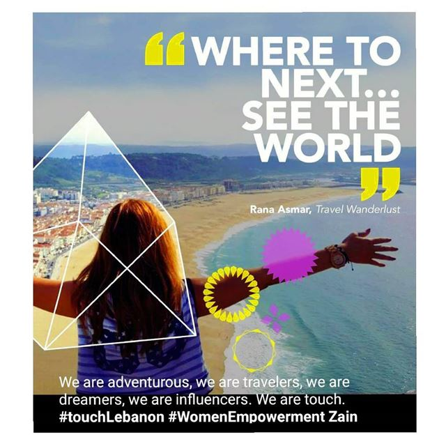 Where to next...See the WORLD 🌏 WomenEmpowerment TouchLebanon Zain ... (Nazaré, Portugal)