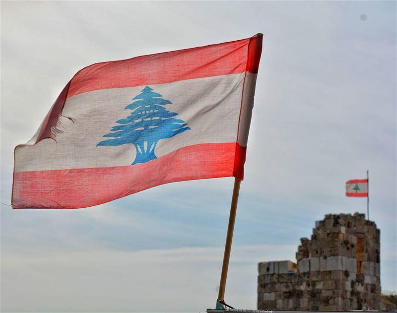 ....للعلم 🇱🇧 (Byblos, Lebanon)