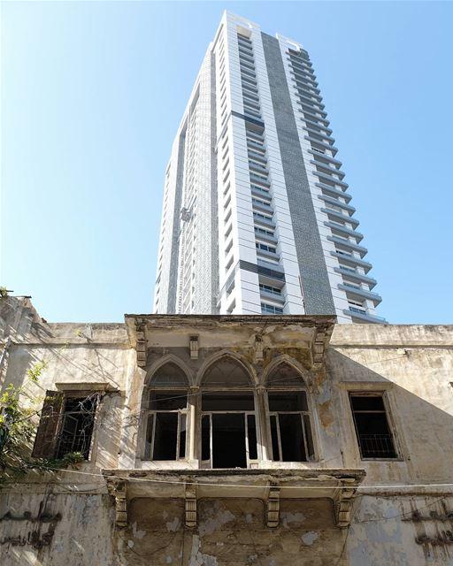 ~ The Beauty and the Beast ~... abandoned heritage abandonedplaces ... (Beirut, Lebanon)