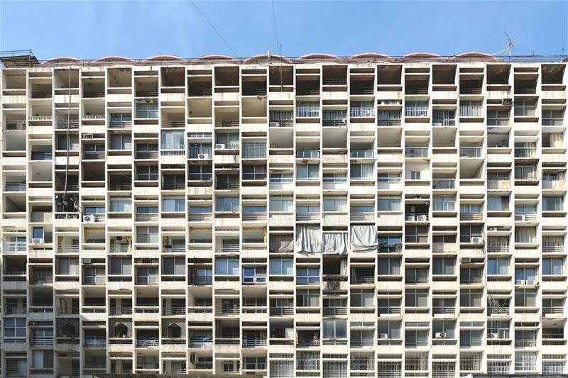 ~ 60's / Architect: Joseph Philippe Karam ~... JosephPhilippeKaram ... (Beirut, Lebanon)