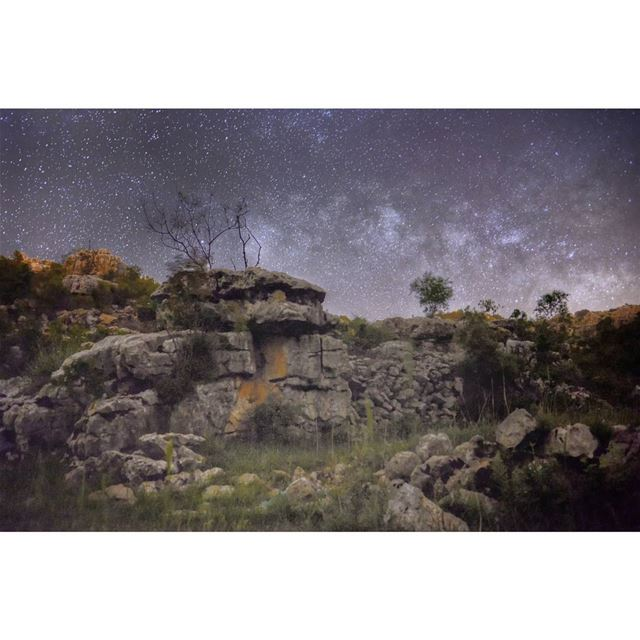 milkyway longexposure astrophotography nightscape nightphotography ... (Lebanon)
