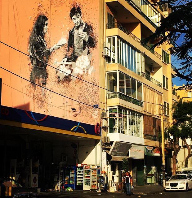 Beirut landscape streetphotography streetart arablife sundaymorning ...